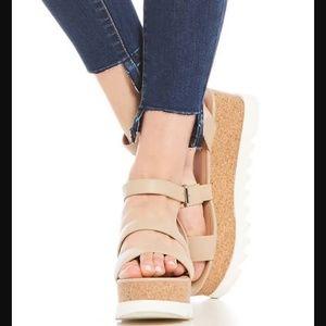 New Steve Madden Kirsten Platform Sandals